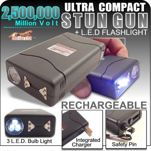 Cheetah 2,500,000 volts Stun gun w/ Flashlight