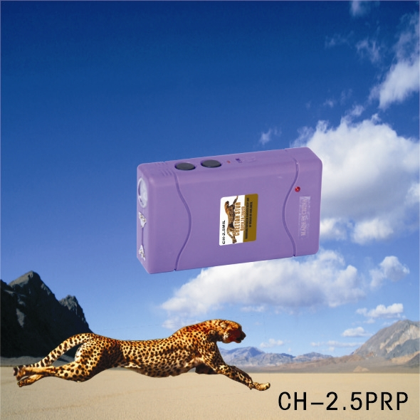 purple 2.5 mill volts stun gun