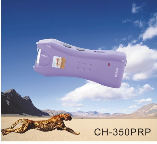 purple stun gun flashlight
